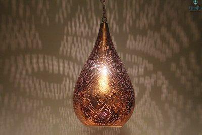 Onion shape oriental pendant