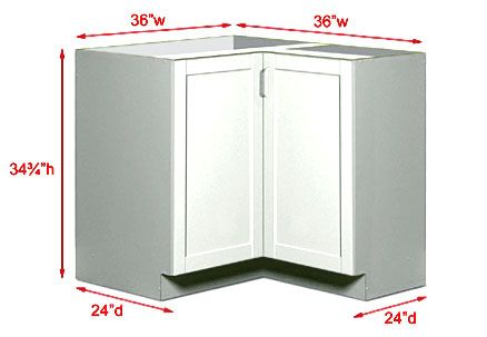 Kitchen Corner Cabinet Dimensions Sizes And Getting Them Right Is