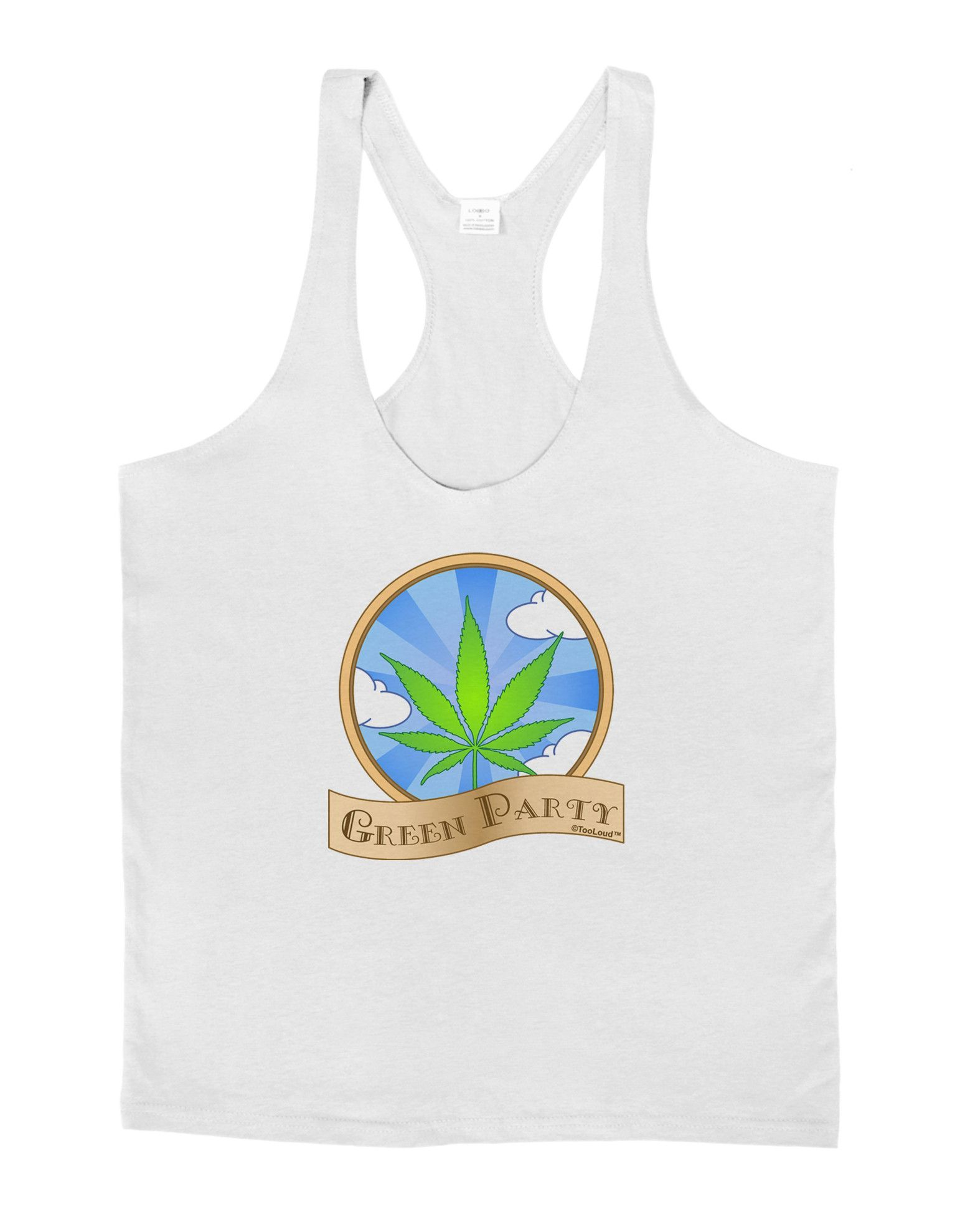Green Party Symbol Mens String Tank Top Tops Products And Symbols