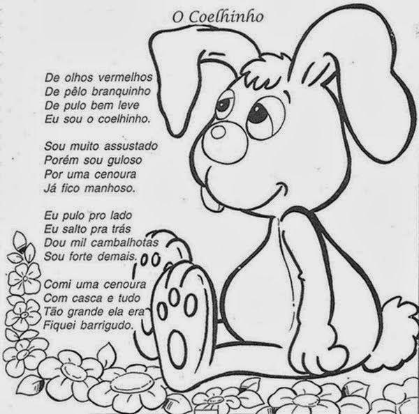 Musica De Pascoa Para Imprimir Atividades Pascoa Coelhinho Da