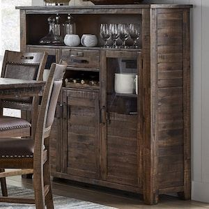 Cannon Valley Wine Cabinet Nebraska Furniture Mart