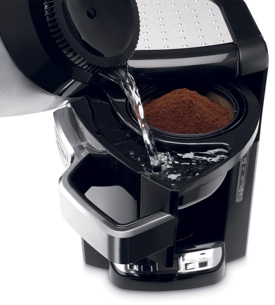 Delonghi cup programmable auto drip coffee maker with thermal