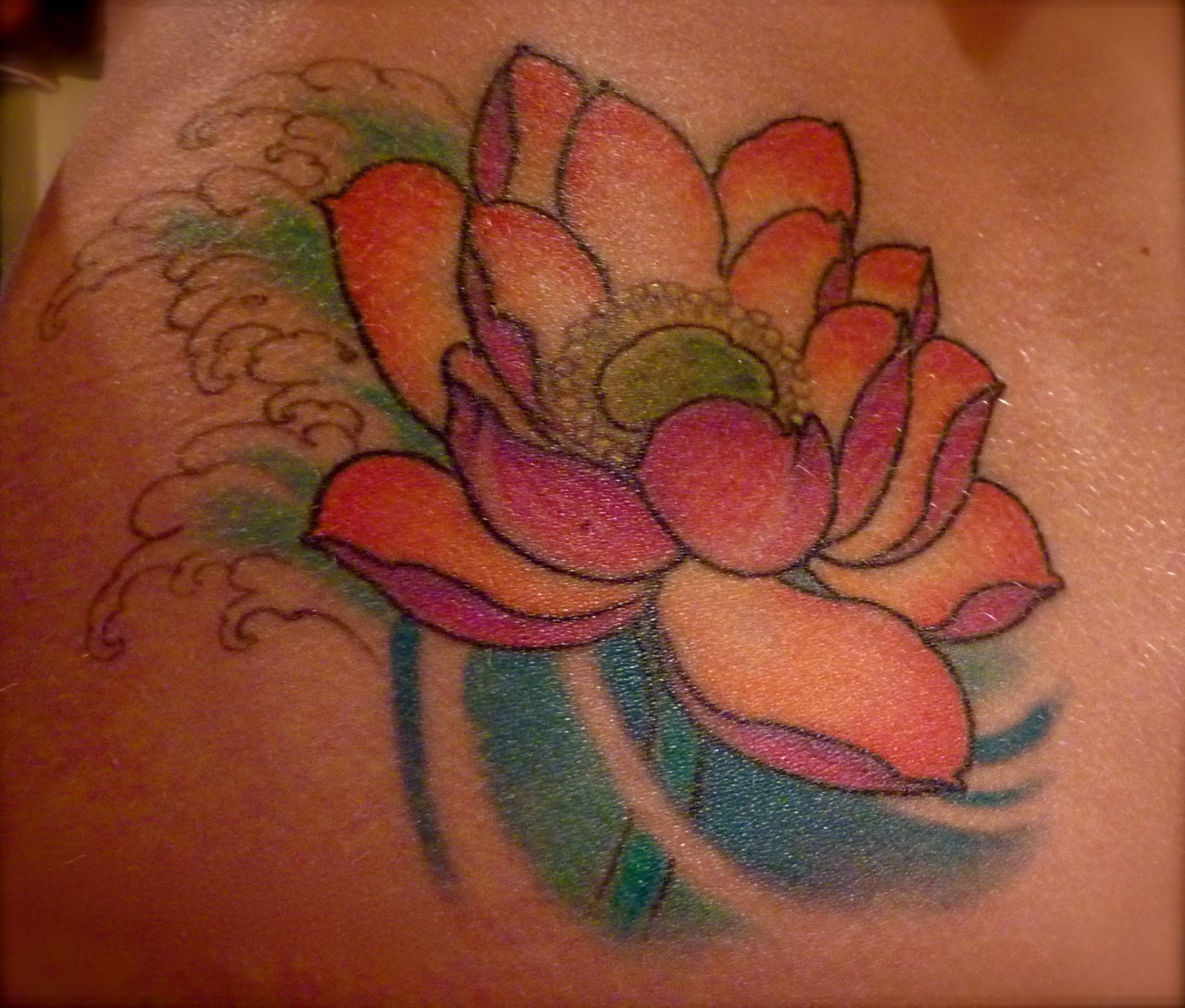 One of my tattoos lotus flower by camila rocha on my left hip one of my tattoos lotus flower by camila rocha on my left hip izmirmasajfo