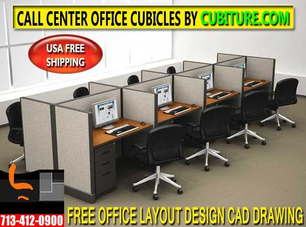 Telemarketing Office Cubicles For Sale By CUBITURECOM Is The