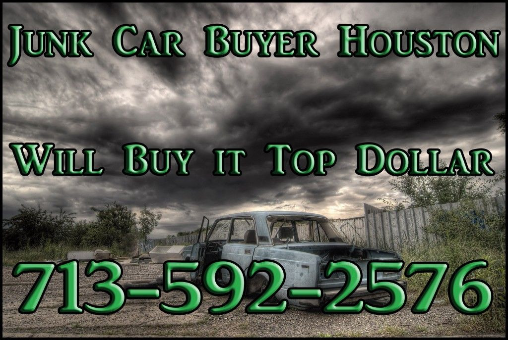 Even more extended areas for houston junk car buyer car