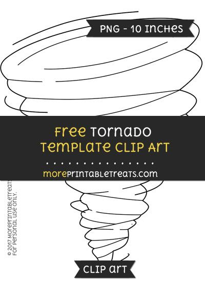 Free Tornado Template - Clipart | Clipart Files | Pinterest ...