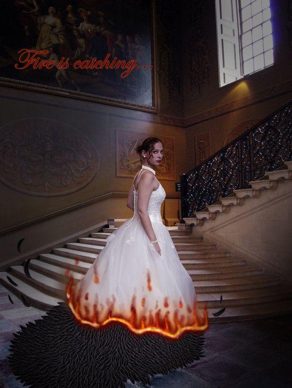 Katniss Everdeen Wedding Dres By Uncannyphantom On Deviantart Wedding Dres Katniss Katniss Everdeen