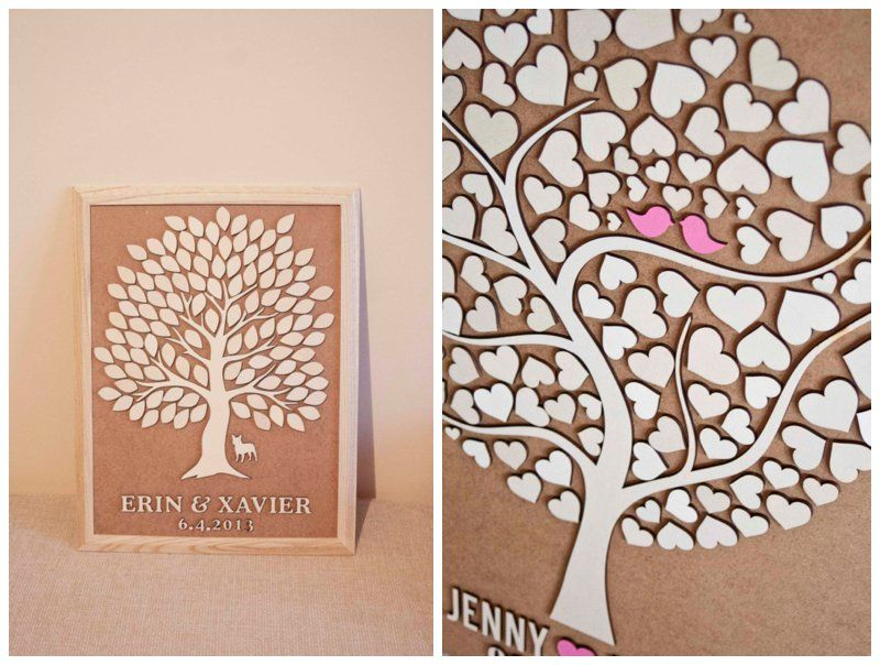 Creative Guest Book Ideas Want This Wedding Tree Wood By