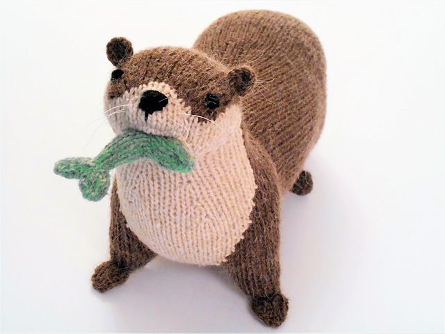River Otter pattern by Sara Elizabeth Kellner