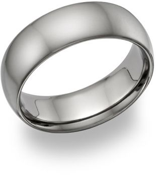 Plain Titanium Wedding Band Ring Made In The Usa Titanium Wedding Band Mens Titanium Wedding Rings Titanium Wedding Band