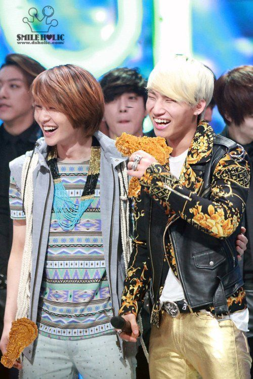 onew and daesung, the new chicken couple