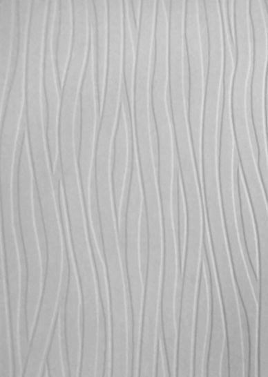 Textured Vinyl Modern White Paintable Wallpaper 10m Wavy Design Paintable Wallpaper Lines Wallpaper Redo Furniture