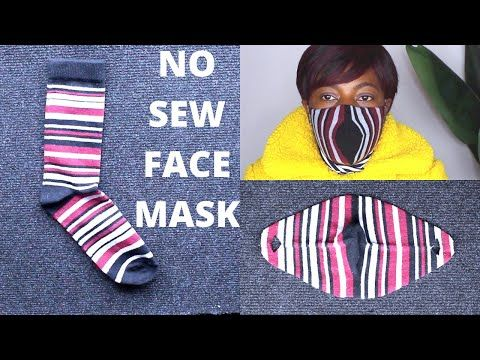 Photo of DIY NO SEW Face mask from socks – Face Mask NO Sewing Machine – how to make face mask
