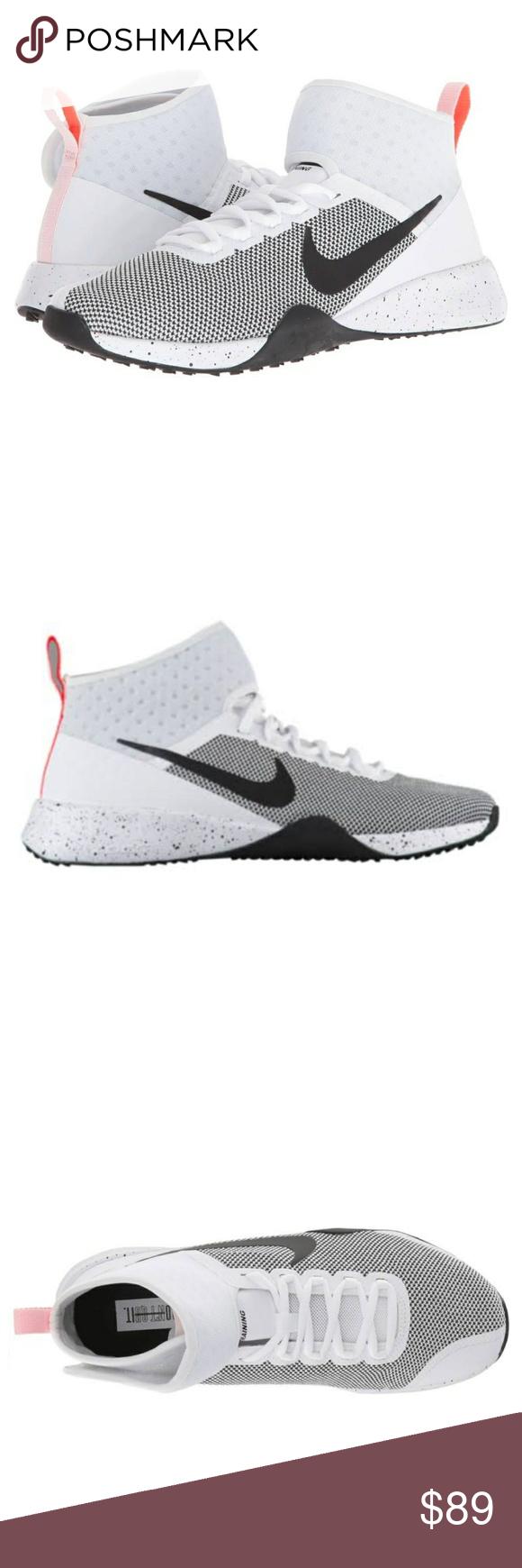 51c89b3c5b0 Womens Nike Air Zoom Strong 2 White Black Sz 6 NIKE Womens Nike Air Zoom