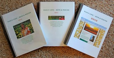 Printing your blog posts - Daily Life - Bits & Pieces: I've Written Three Books