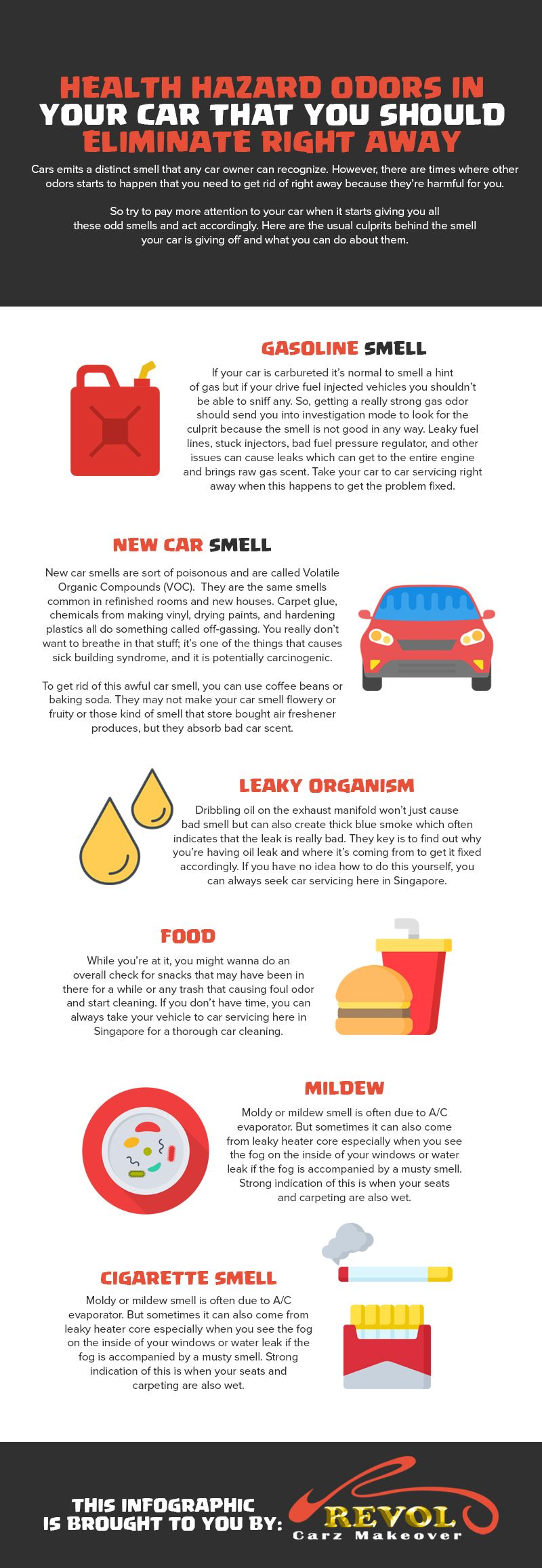 Health Hazard Odors In Your Car That You Should Eliminate Right Away Car Maintenance Car New Car Smell
