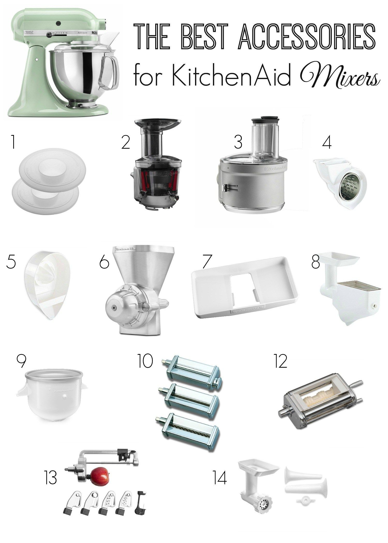 best accessories for kitchenaid mixers the naughty mommy home rh pinterest com