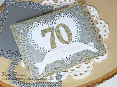 70th Anniversary Card in 2020 70th anniversary card