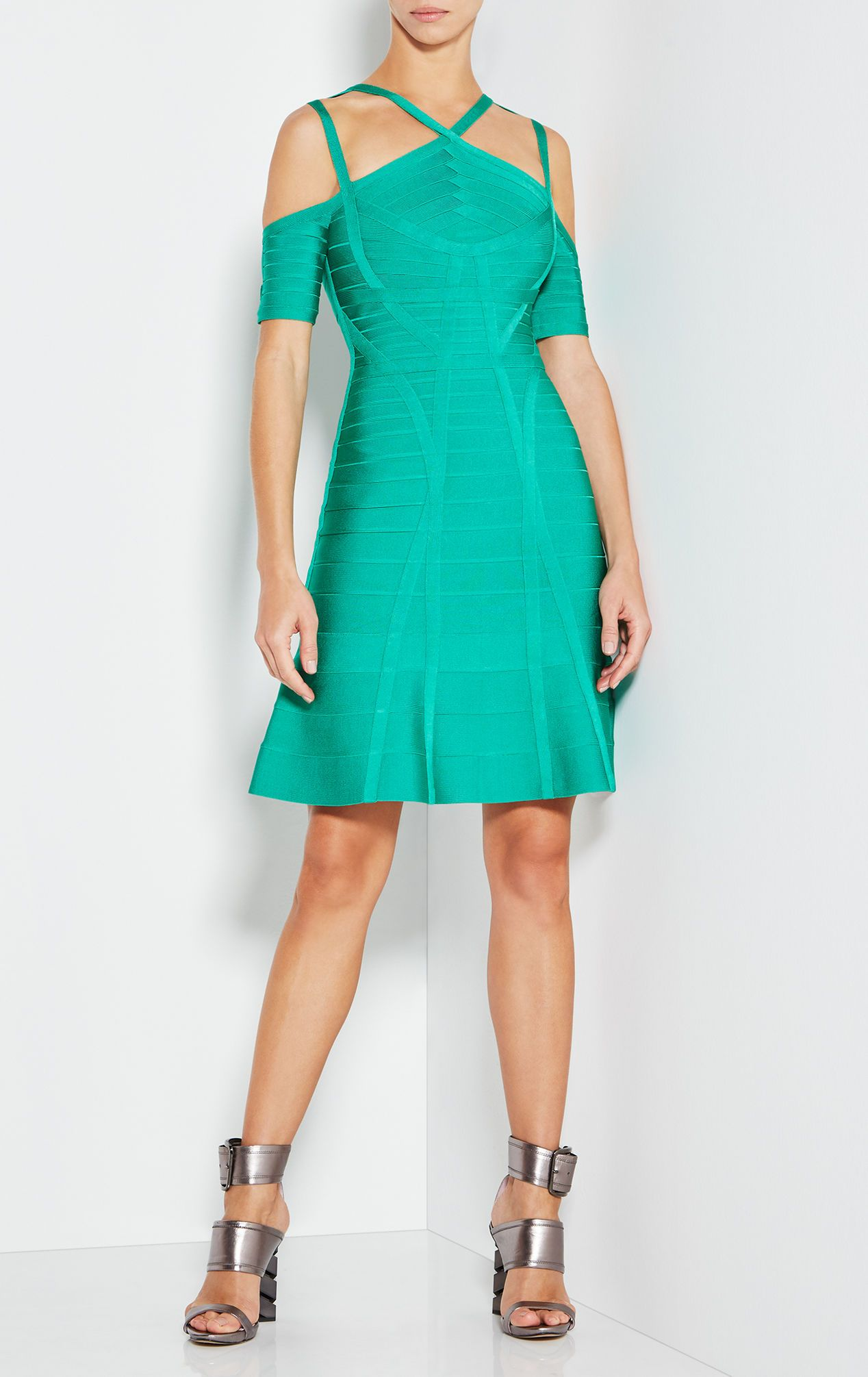 Chantelle Cutout Bandage Dress | I can rock this | Pinterest | Herve ...