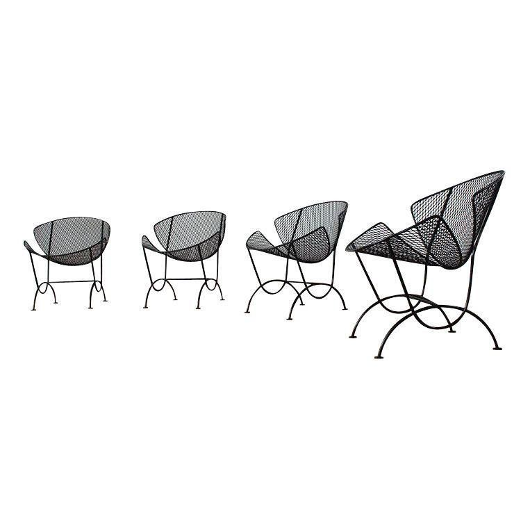 Salterini Orange Slice Chairs Set Of