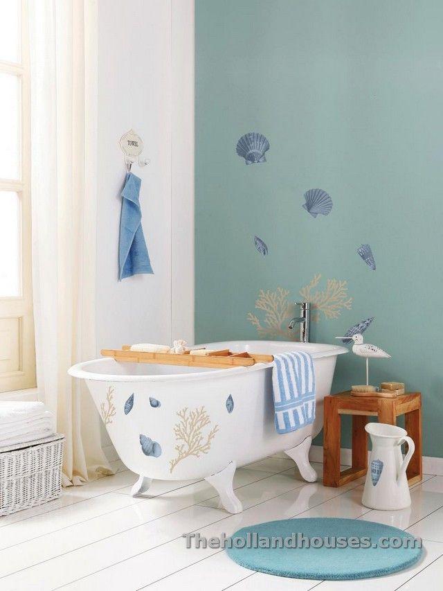 Beach Themed Bathroom Decorating Ideas Home Decor / Design