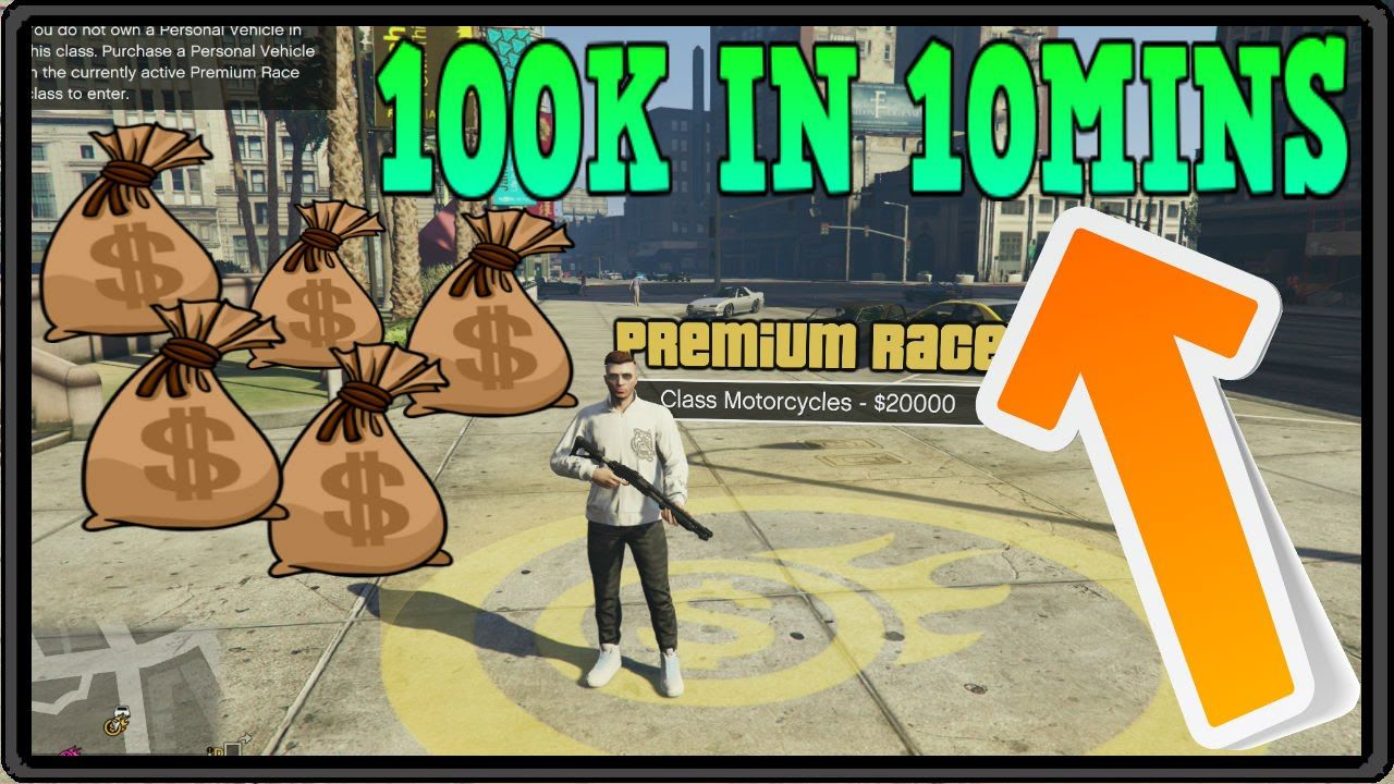 Gta 5 Online Money Making Method Make 100k In 10 Minutes Easy