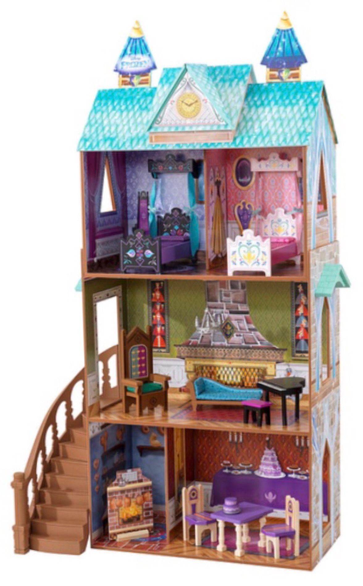mmdisney200 Doll house, Arendelle frozen, Disney dollhouse