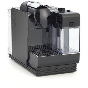 Crate Barrel Delonghi Black Nespresso Lattissima Plus Espresso Maker