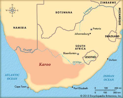 karoo desert map   Google Search | TRAVEL   The Karoo   South