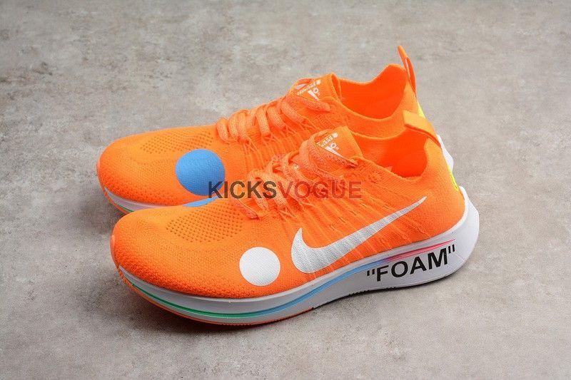 75b2794c51a2 Off-White x Nike Zoom Fly Mercurial Flyknit Total Orange AO2115-800 ...
