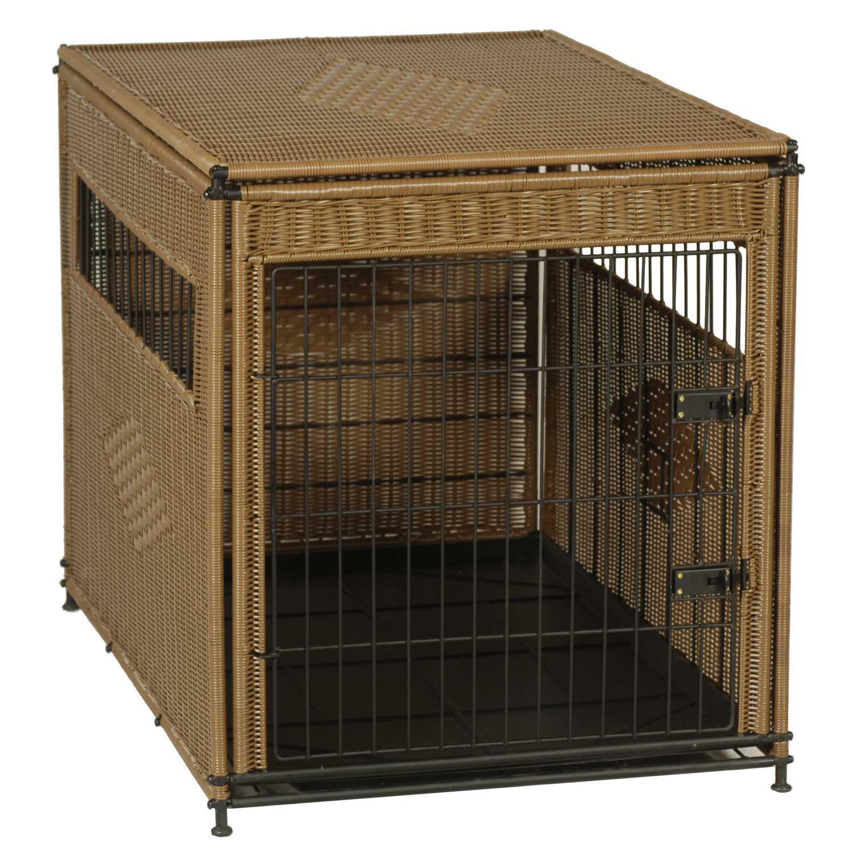 Mr Herzher S Pet Residence In Brown 30 L X 21 W X 24 H