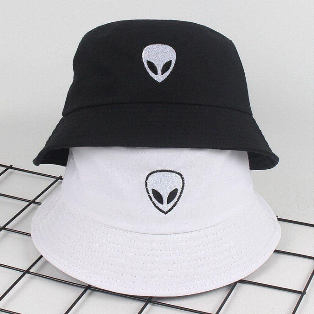 Alien Black White Street Fashion Special Embroider