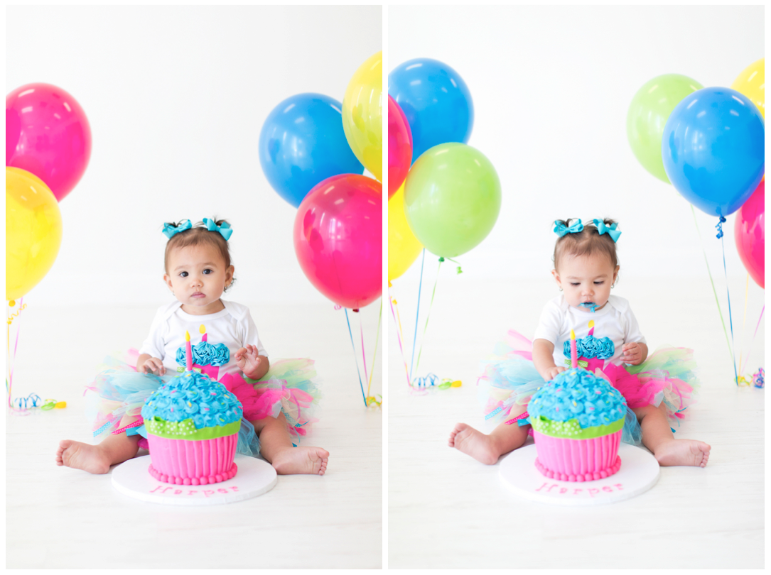 First Birthday Smash Cake session featured on Home Confetti ...