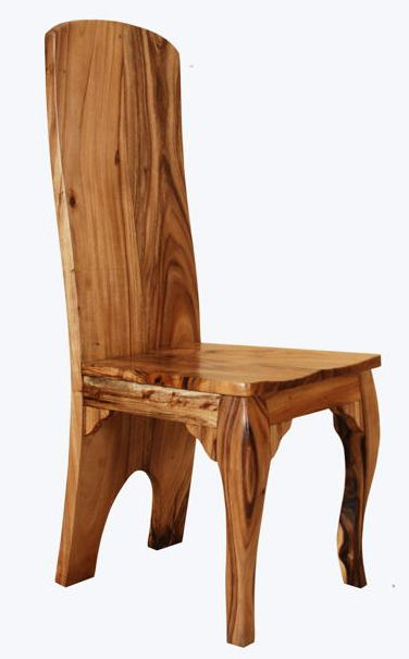 we handcraft rustic solid wood chairs and natural wood chairs unique wood dining chairs for organic dining tables