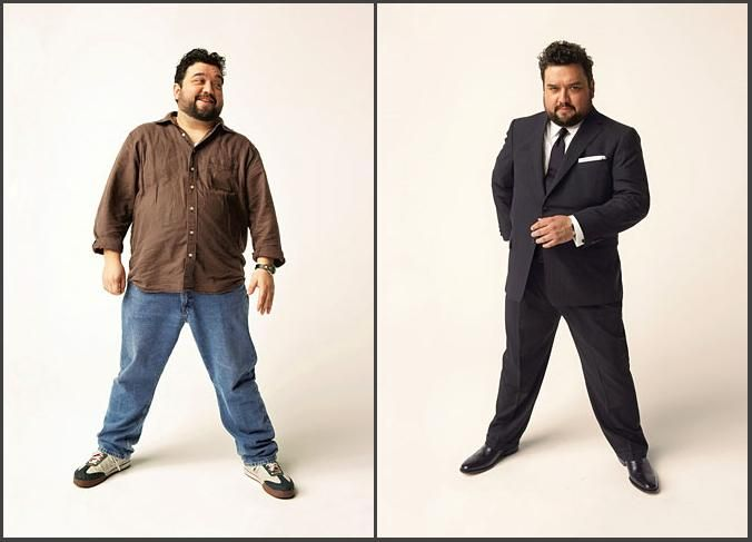 e33d0615b42 Suit for big people. Dressing Tips for Men that are Overweight