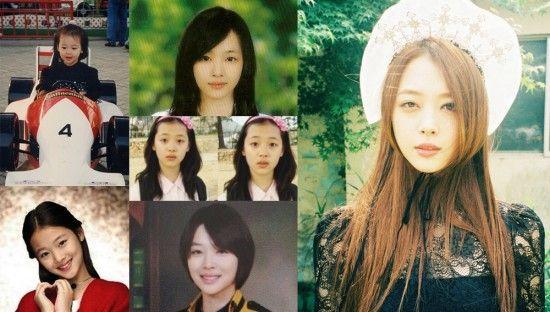 10 Female Idols Who Look The Same Before And After Idol Sulli Female