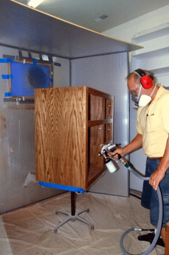 Woodworking Paint Booth