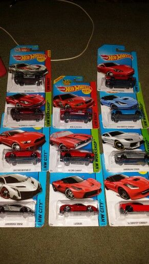 And the rest of the crew. Always have to have two of each car. Feel free to check out my YouTube channel. I'll be posting more hot wheels reviews in the coming days.