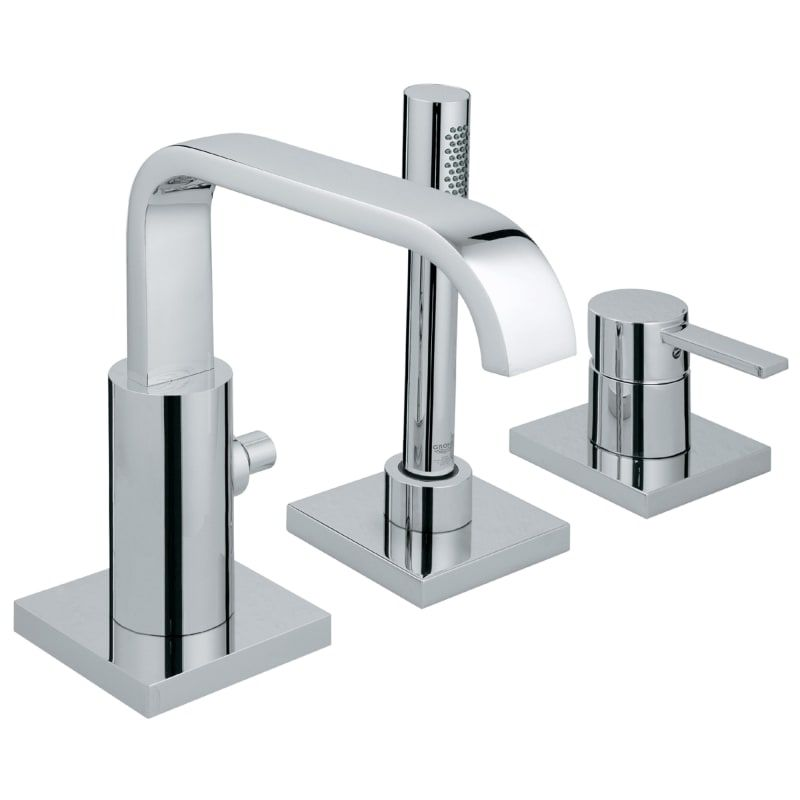 Grohe 19 302 1 Allure Deck Mounted Roman Tub Filler With Built In