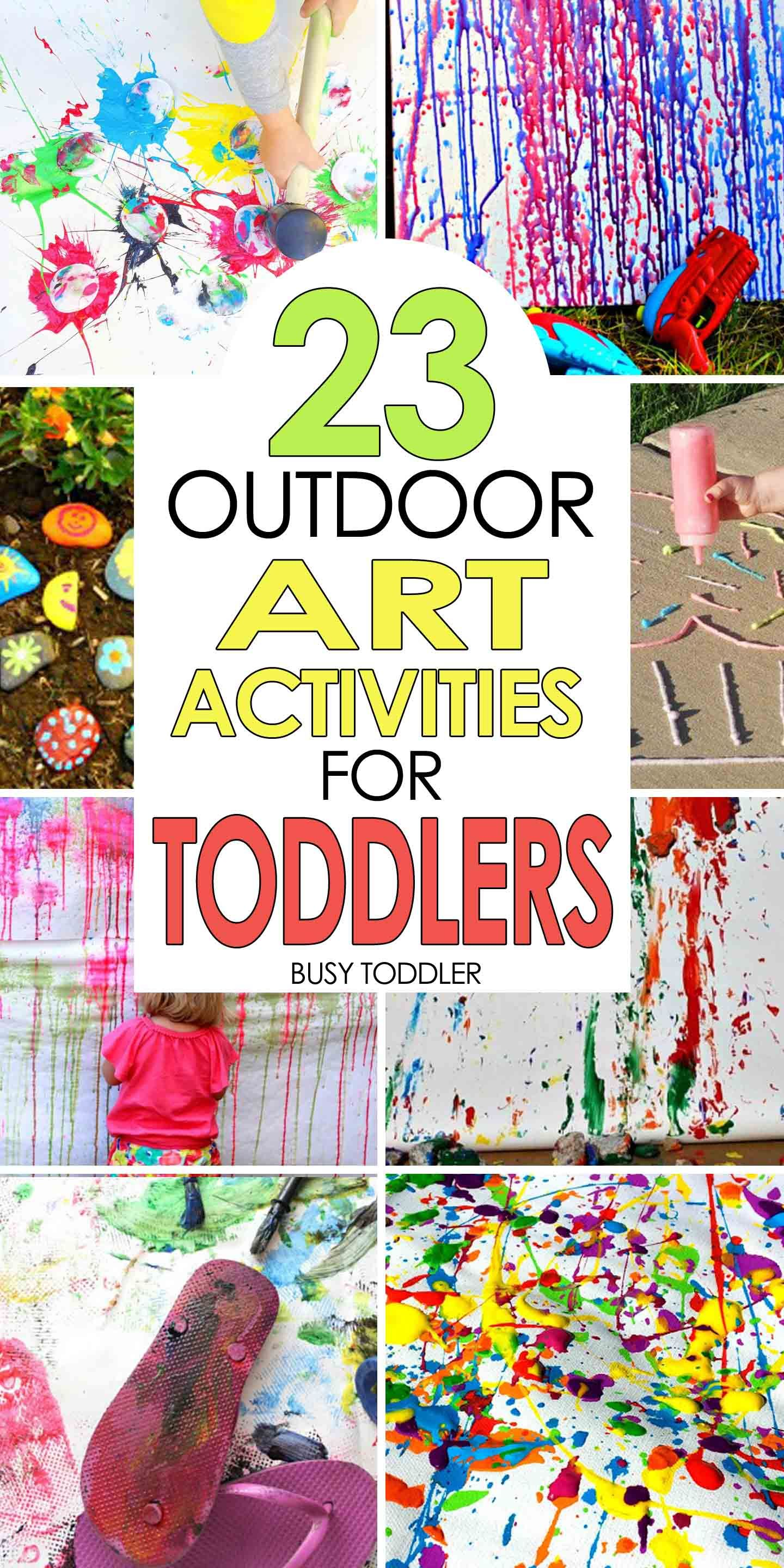 50 Awesome Summer Activities For Toddlers Fun For The Kids