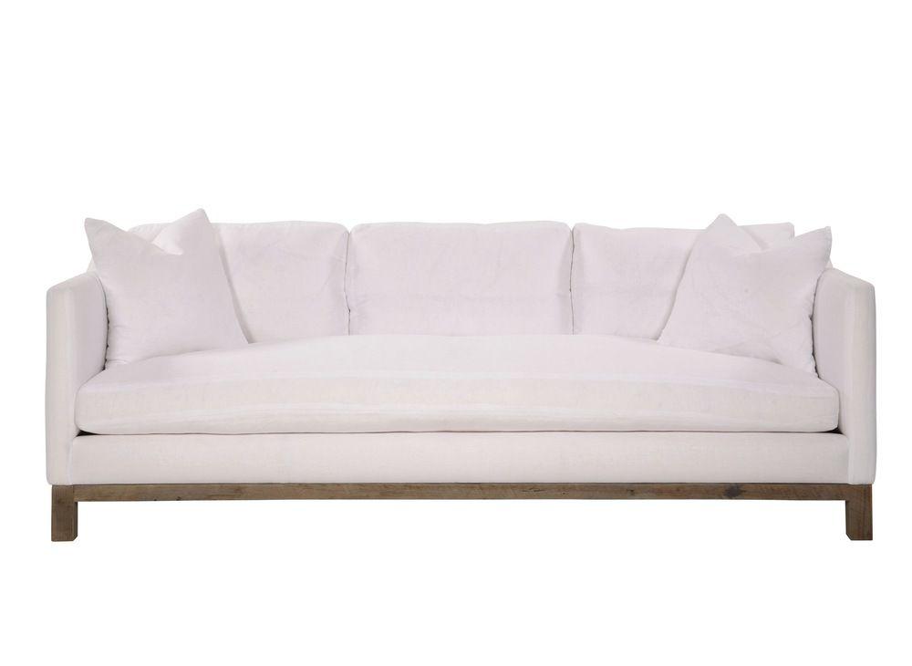 Japhney Sofa With Base Exposed Brownstone Upholstery Pacific Home Furnishings Oahu Maui Sofa Settee Sofa Sofa Furniture