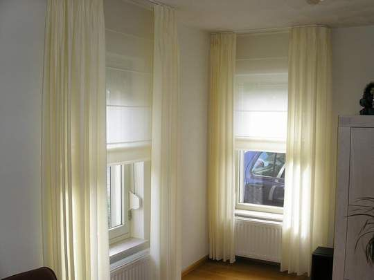 Kleur gordijnen woonkamer | Future Home | Pinterest | Roman blinds