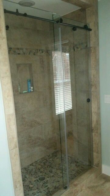 Slider Shower Custom Bathroom Upgrade Brittandtilson Asheville - Asheville bathroom remodeling