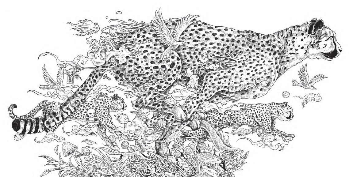 Illustrator Kerby Rosanes\' quirky detail and extravagant scenes lend ...