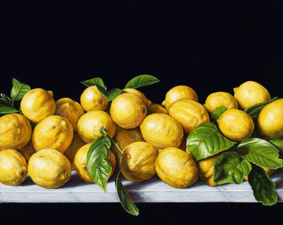 Still life with lemons by Chris Beaumont visit www.chrisbeaumont.com