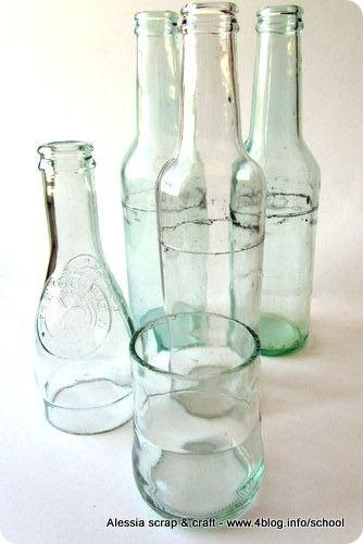 Tagliare Bottiglia Vetro.Come Tagliare Una Bottiglia Di Vetro Facilmente Bottiglia