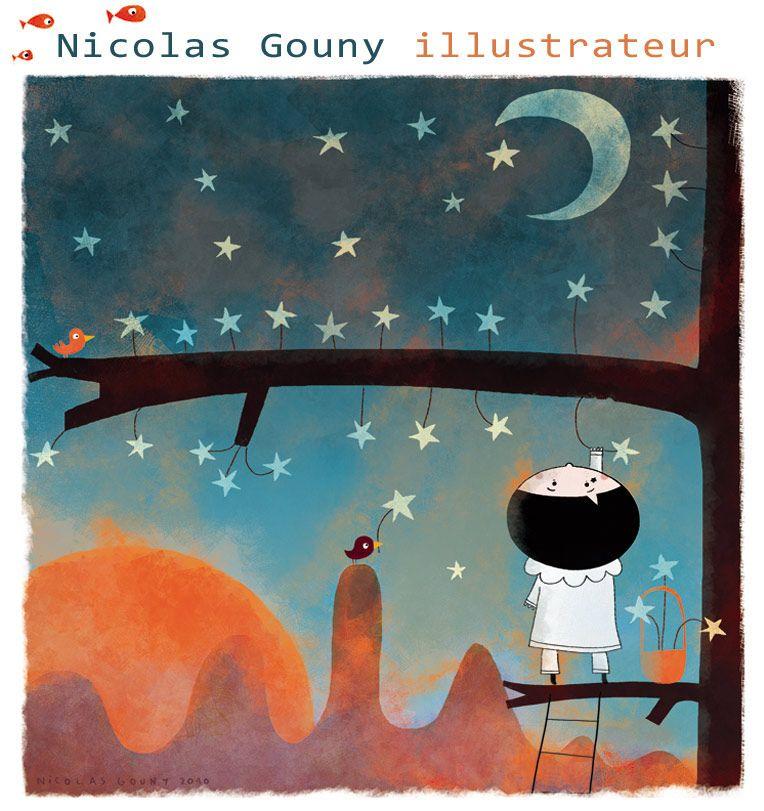 Nicolas Gouny, illustrateur