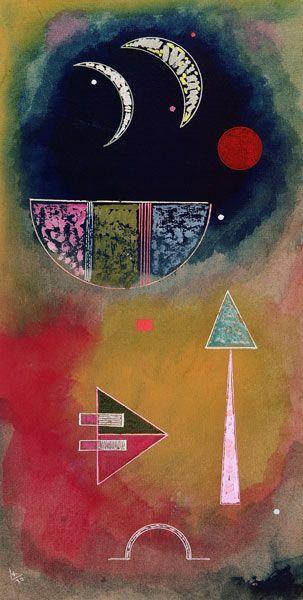 Wassily Kandinsky - From Light Into Dark