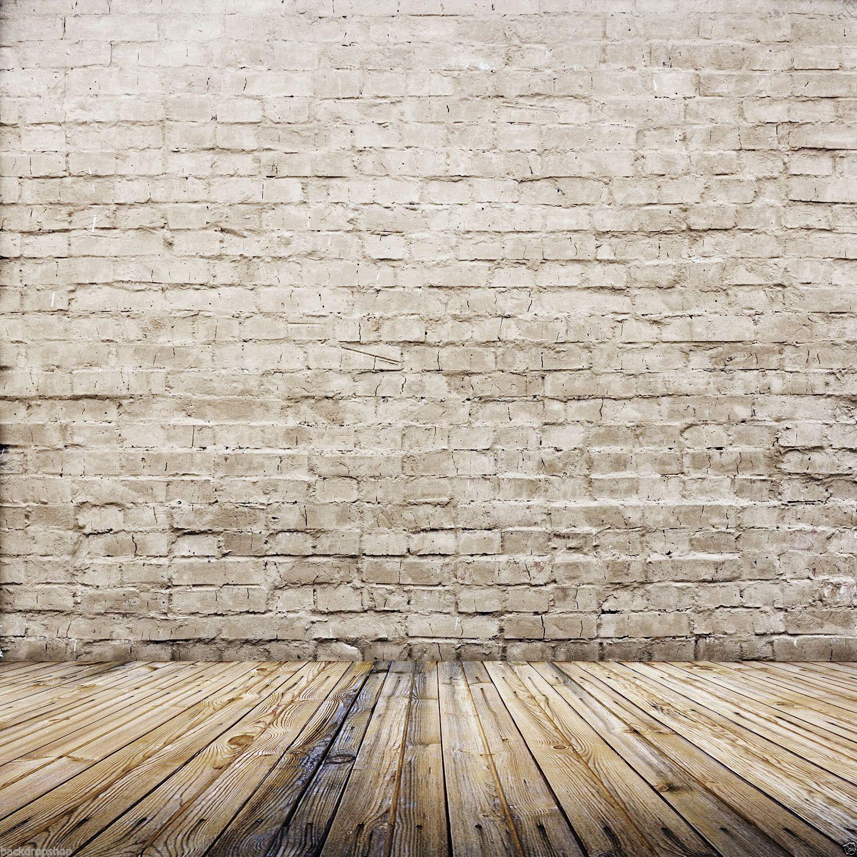 Brand New Lb 10X10Ft Brick Wall Floor Vinyl Backdrop Photography