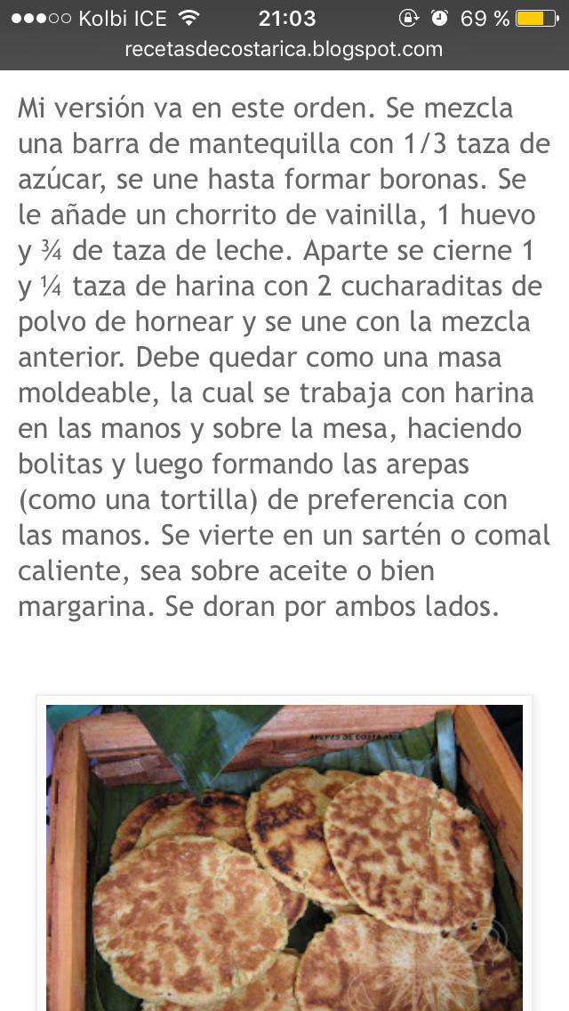 como hacer arepas secas bone rica